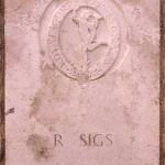 Fontenay-le-Pesnel, plaque 49th Divisional Signals