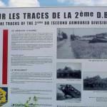 Fyé, panneau 2e Division blindée Leclerc