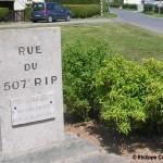 Graignes, stèle 507th Parachute Infantry Regiment