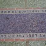 Graignes, tombe Albert Leblastier et R. P. Louis de Gonzague