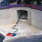 Grancamp-Maisy, monument Rangers américains