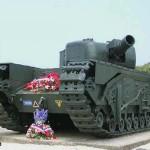 Graye-sur-Mer, char Churchill One Charlie
