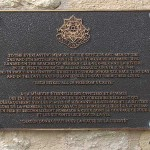 Hermanville-sur-Mer, plaque East Yorkshire Regiment