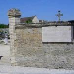 Hérouvillette, plaque The 2nd Battalion Oxfordshire & Buckhinghamshire LI