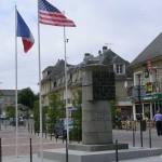 Isigny-sur-Mer, monument commémoratif de la Libération