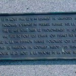 Jort, plaque 1re Division blindée polonaise