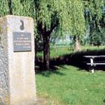 Jort, stèle 1re Division blindée polonaise