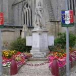 Langrune-sur-Mer, plaque soldats 48th RMC