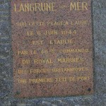 Langrune-sur-Mer, monument 48th Royal Marines Commando