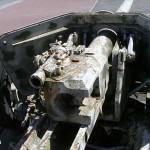 Le Dézert, canon allemand PAK 40