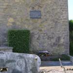 Le Dézert, plaque Colonel Flint