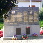 Le Mesnil-Patry, monument Queen's Own Rifle et First Hussars