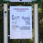 Le Plessis-Grimoult, panneau bataille du Mont Pinçon