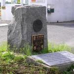 Lessay, stèle 323th Bombardment Group et aérodrome A20