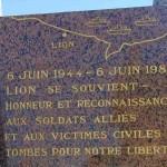 Lion-sur-Mer, monument victimes militaires et civiles