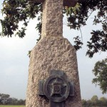 Magneville, monument 506th Parachute Infantry Regiment et 9th US Air Force