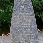 Marchésieux, monument 83rd Infantry Division et Wallace Rock
