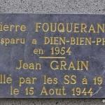 May-sur-Orne, plaque Jean Grain