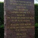Méautis, monument aérodrome A17
