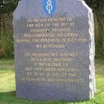 Millières, stèle 8th Infantry Division