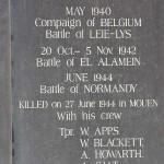 Mouen, monument Major Legrand