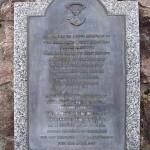 Mouen, plaque Somerset Light Infantry Regiment