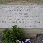 Négreville, monument 82nd Airborne Division