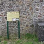 Négreville, panneau Mémorial 6 juin 1944