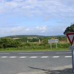 Neufmesnil, vue sur les monts Doville et Etenclin