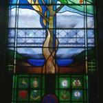 Ouistreham, vitrail 51st Infantry Division