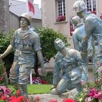 Périers, monument des Quatre braves