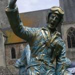 Périers, monument des Quatre braves - Sergeant Micaloni