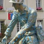 Périers, monument des Quatre braves - Private Tangborn