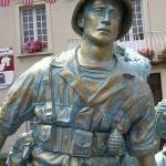 Périers, monument des Quatre braves - Private Richtman