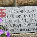 Périers, plaque 90th Infantry Division