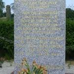 Picauville, stèle aérodrome avancé A8