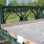 Pont-Farcy, pont Bailey