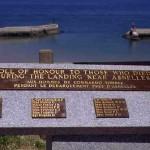 Port-en-Bessin, monument 47th Royal Marine Commando