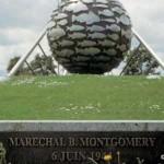 Port-en-Bessin, monument General Montgomery