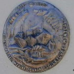 Port-en-Bessin, plaque 47th Royal Marine Commando
