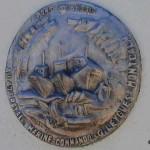 Port-en-Bessin, plaque 47th Royal Marine Commando