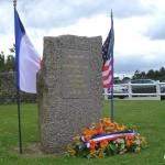 Quinéville, stèle 39th Infantry Regiment