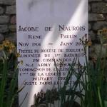 Ranville, tombe Jacobe de Naurois