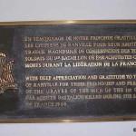 Ranville, plaque 1st Canadian Parachute Battalion