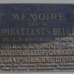 Ranville, plaque Brigade Piron