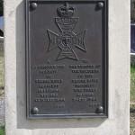 Reviers, stèle Regina Rifle Regiment
