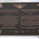 Robehomme, plaque 1st Canadian Parachute Battalion