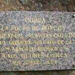 Roncey, stèle poche de Roncey