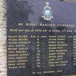 Rots, monument 46th Royal Marine Commando