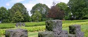 Marigny, cimetière lettrine